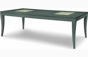 Tower Suite Moonstone Extendable Rectangular Leg Dining Table