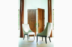 Tower Suite Moonstone Upholstered Host Chair Set of 2