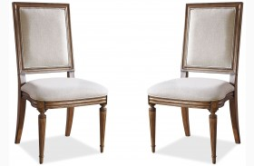 Remix Bannister Dining Side Chair Set of 2