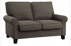 Noella Grey Loveseat