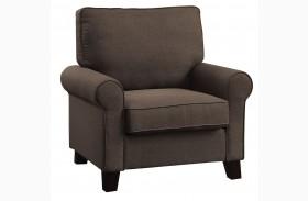 Noella Chocolate Chair