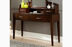 Avalon Truffle Desk with Hutch