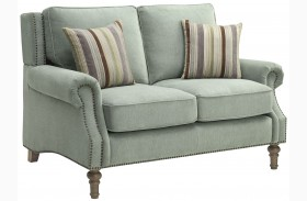Rosenberg Light Sage Loveseat