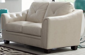 Avison Cream Loveseat