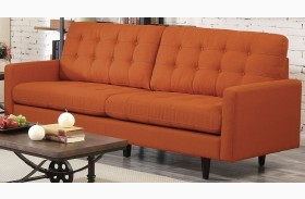 Kesson Orange Sofa