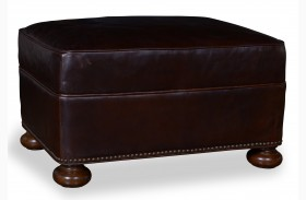 Kennedy Walnut Matching Ottoman