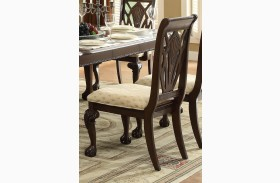 Norwich Warm Cherry Side Chair Set of 2