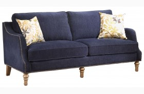 Vessot Ink Blue Sofa