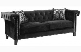 Reventlow Black Sofa