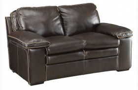 Regalvale Brown Loveseat