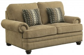 Colton Wheat Loveseat