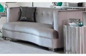 Caldwell Silver Loveseat