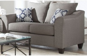 Salizar Gray Loveseat