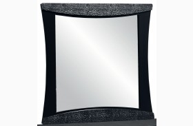 Vogue Glossy Black Mirror
