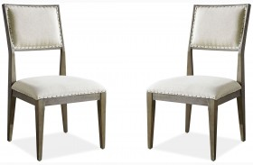 Playlist Brown Eyed Girl Dining Side Chair Set of 2