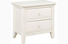 Siesta Sands White Sand Nightstand