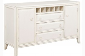 Siesta Sands White Sand Sideboard