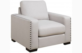 Rosanna Pewter Linen Chair by Donny Osmond