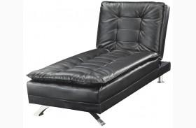 Erickson Black Chaise