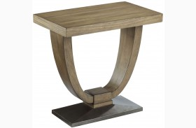 Evoke Barley Chairside Table