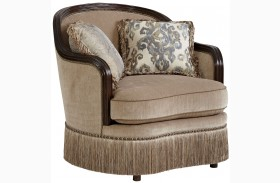 Giovanna Azure Upholstered Chair
