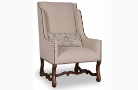Tyler Natural Wing Chair