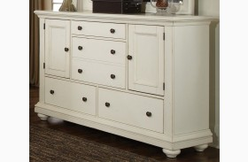 Pathways White Dresser