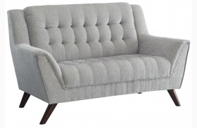 Baby Natalia Dove Gray Loveseat