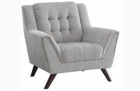 Baby Natalia Dove Gray Chair