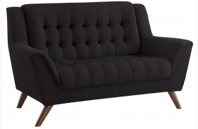 Baby Natalia Black Loveseat