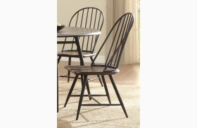 Hesperia Dark Brown Side Chair Set of 4