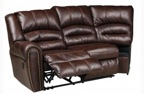 Manzanola Chocolate LAF Reclining Loveseat