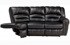 Manzanola Black RAF Reclining Loveseat