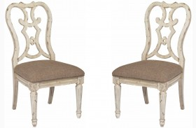 Southbury Parchment Cortona Side Chair Set of 2