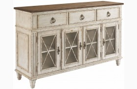 Southbury Fossil and Parchment Sideboard