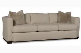 Wythe Coffee Bean Track Arm 3 Seat Sofa