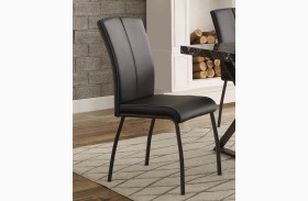 Rancho Portola Black Side Chair Set of 2