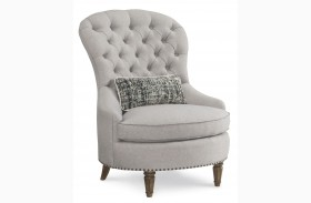 Collection One Upholstered Christiansen Tufted Accent Chair