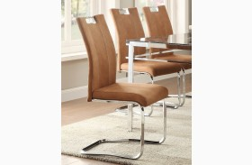 Watt Brown Side Chair Set of 2