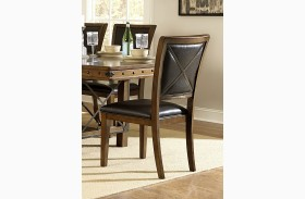 Urbana Burnished Side Chair Set of 2