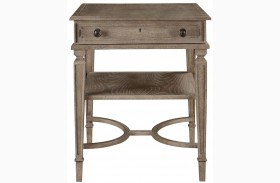 Wethersfield Estate Brimfield Oak End Table