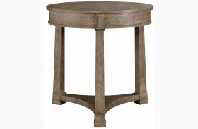 Wethersfield Estate Brimfield Oak Lamp Table
