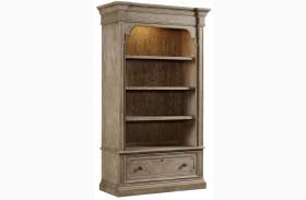 Wethersfield Estate Brimfield Oak Lateral File Bookcase