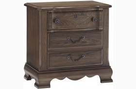 Villa Sophia Dark Roast Nightstand