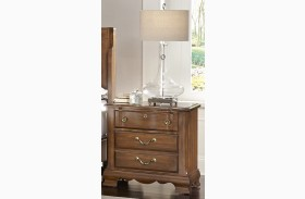 Villa Sophia Antique Cherry Nightstand