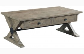 Reclamation Place Sundried Natural Rectangular Cocktail Table