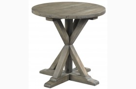 Reclamation Place Sundried Natural Round End Table