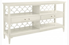 Coastal Living Oasis Saltbox White Sea Cloud Sideboard