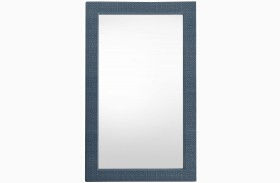 Coastal Living Oasis Cotswold Blue Catalina Floor Mirror