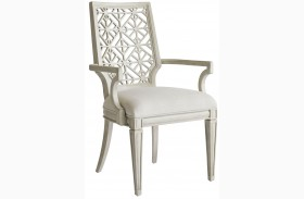 Coastal Living Oasis Oyster Catalina Arm Chair